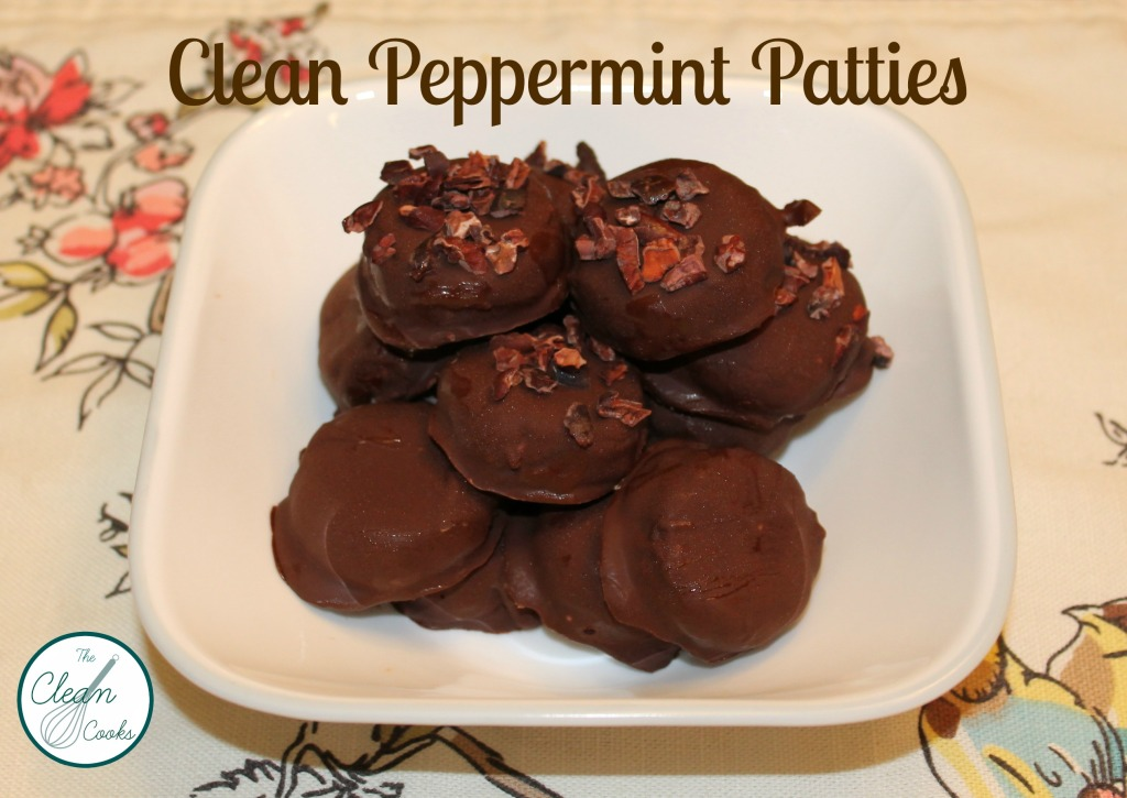 Clean Peppermint Patties