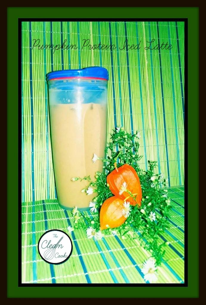 Pumpkin Protein Iced Latte