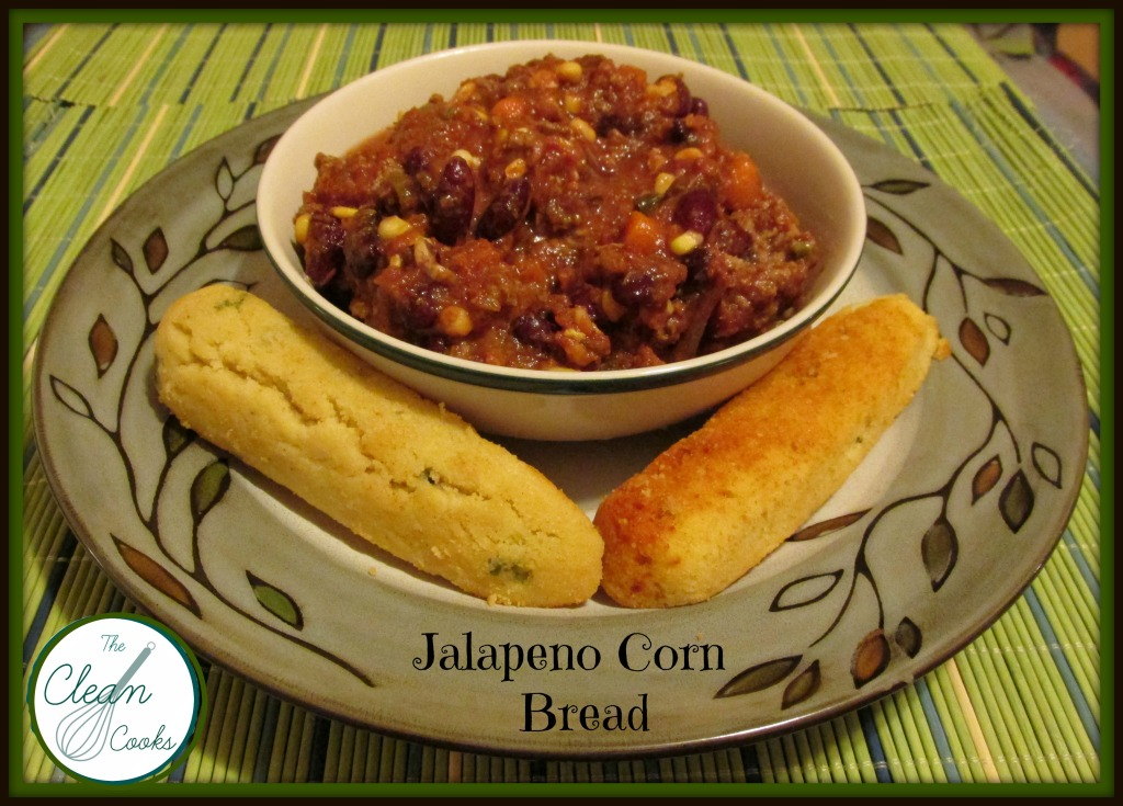 cornbread with chili