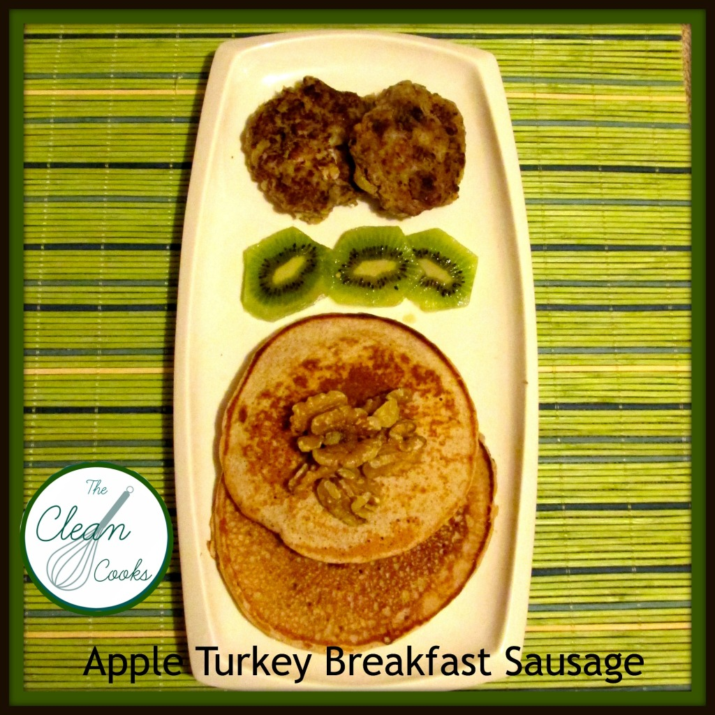 Apple Turkey Breakfast Sausage