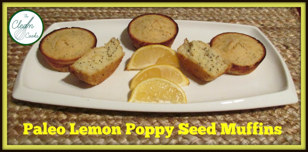 Paleo Lemon Poppy Seed Muffin