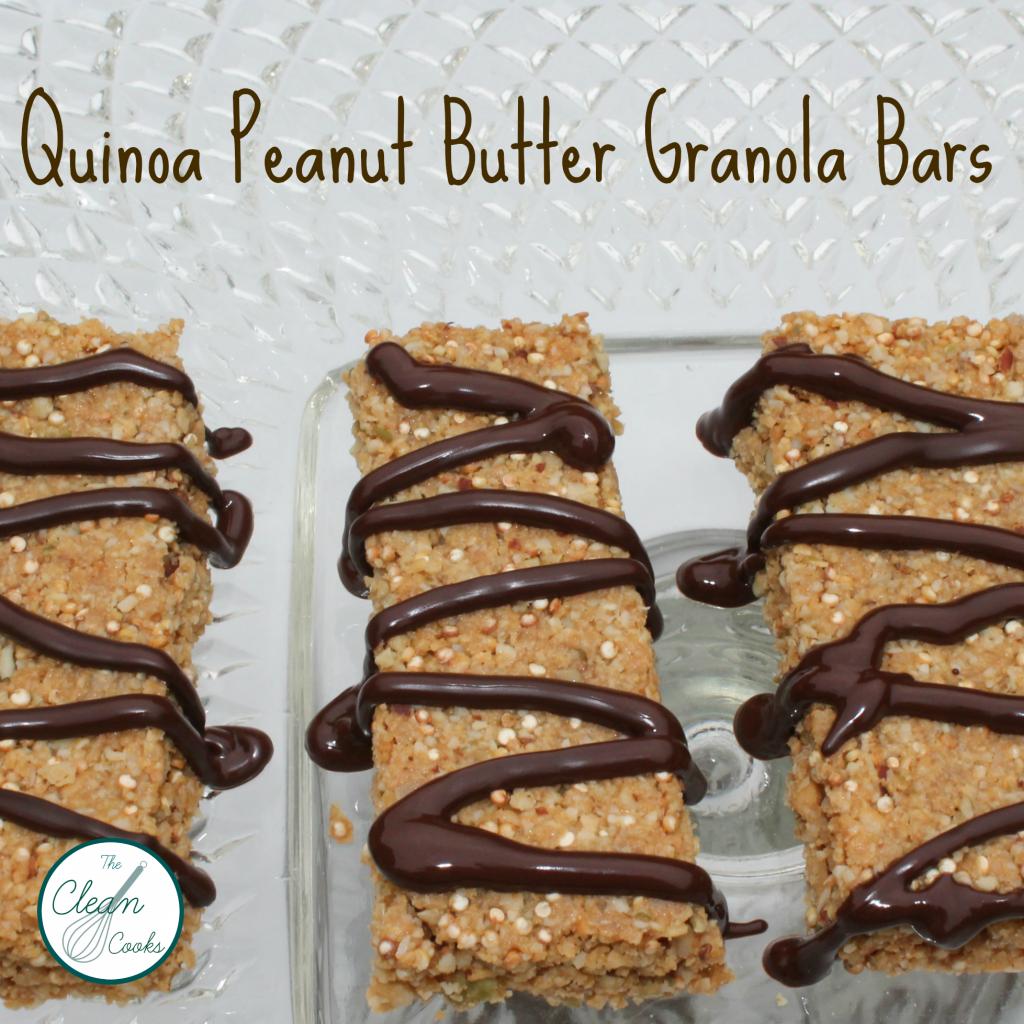 Quinoa Granola Bar @TheCleanCooks