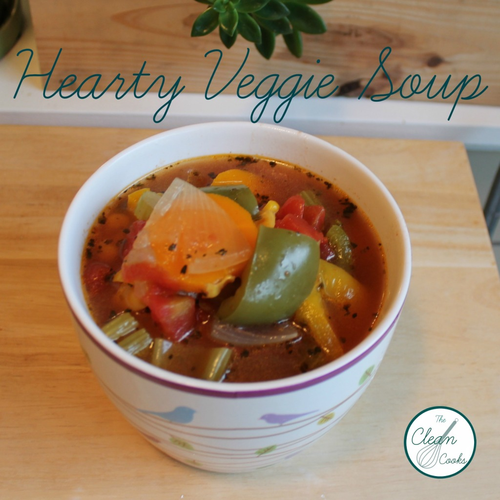 Hearty Veggie Soup by TheCleanCooks.com