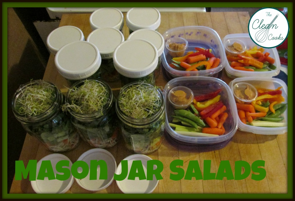 Salads AND Snack Prep