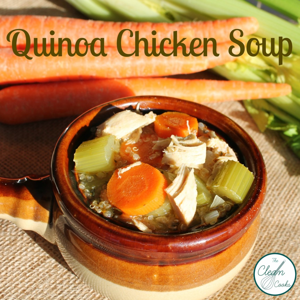Quinoa Chicken Soup from TheCleanCooks.com