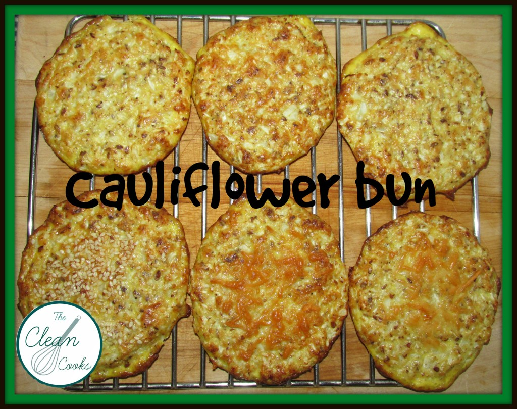 cauliflower bun