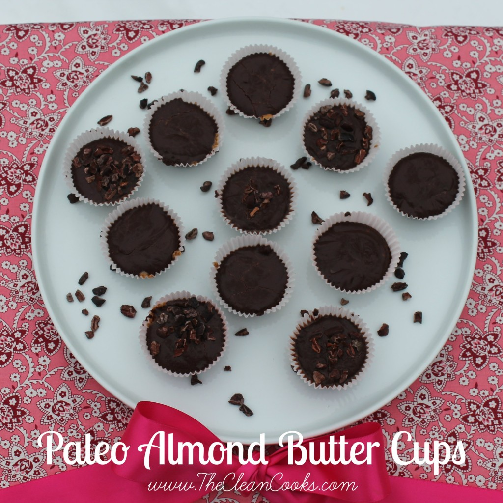Almond Butter Cups from TheCleanCooks.com