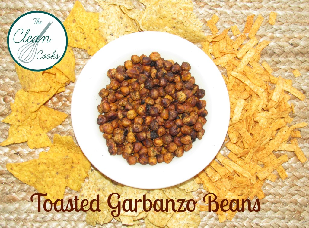 Toasted Garbanzo Beans