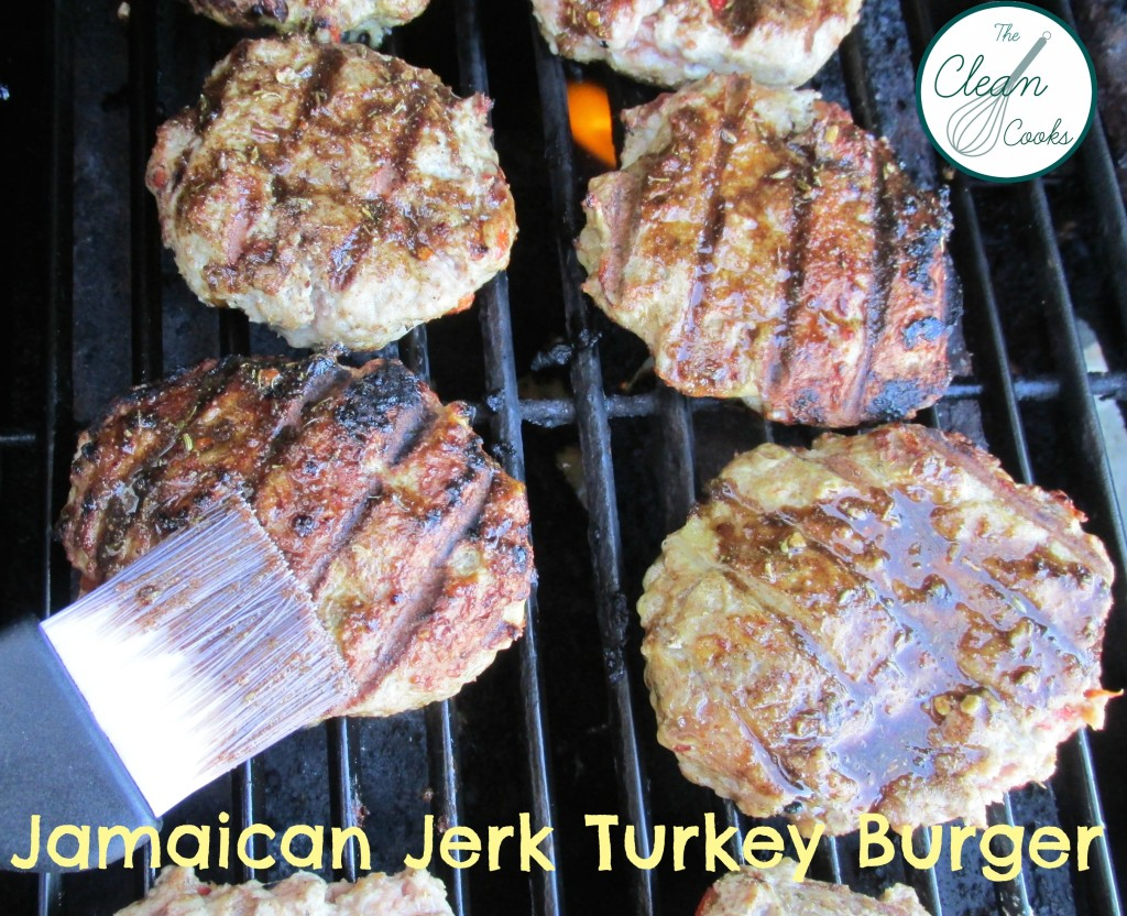 Jamaican Jerk Turkey Burger