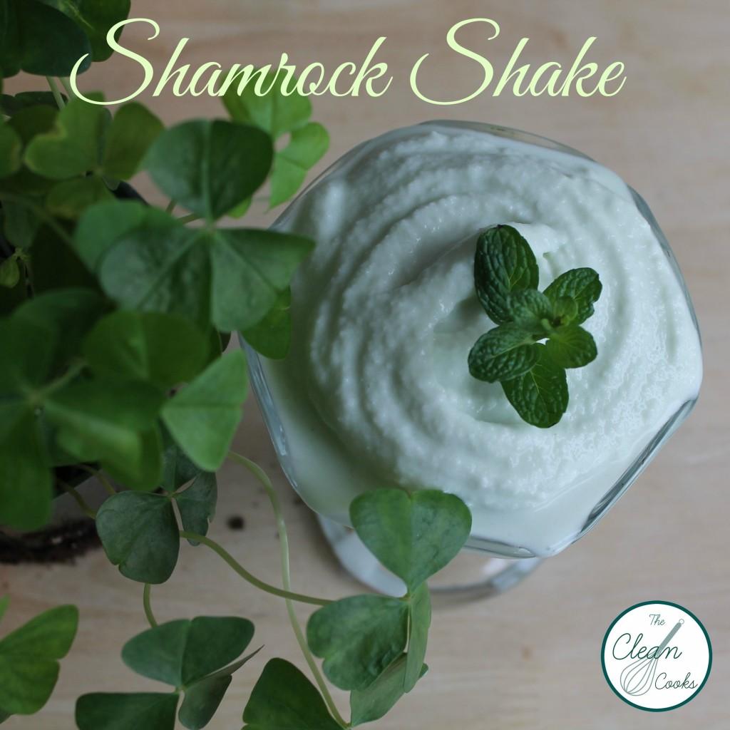 Shamrock shake by thecleancooks.com