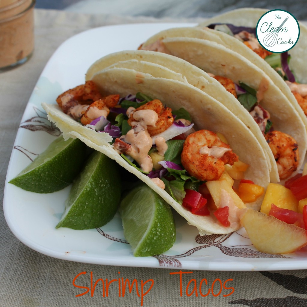 Shrimp Tacos from www.TheCleanCooks.com