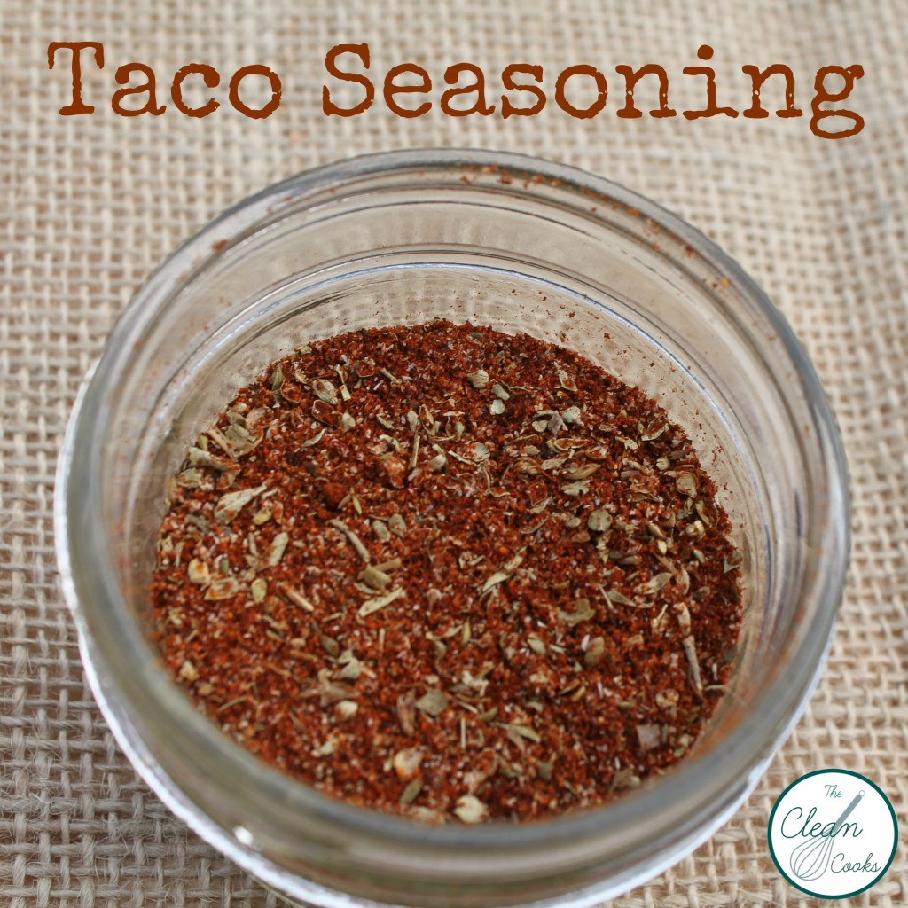 Taco Seasoning from www.TheCleanCooks.com