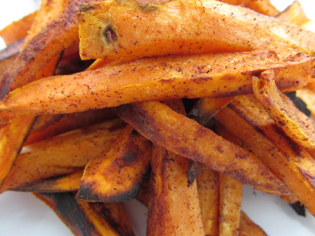 golden sweet potato fries