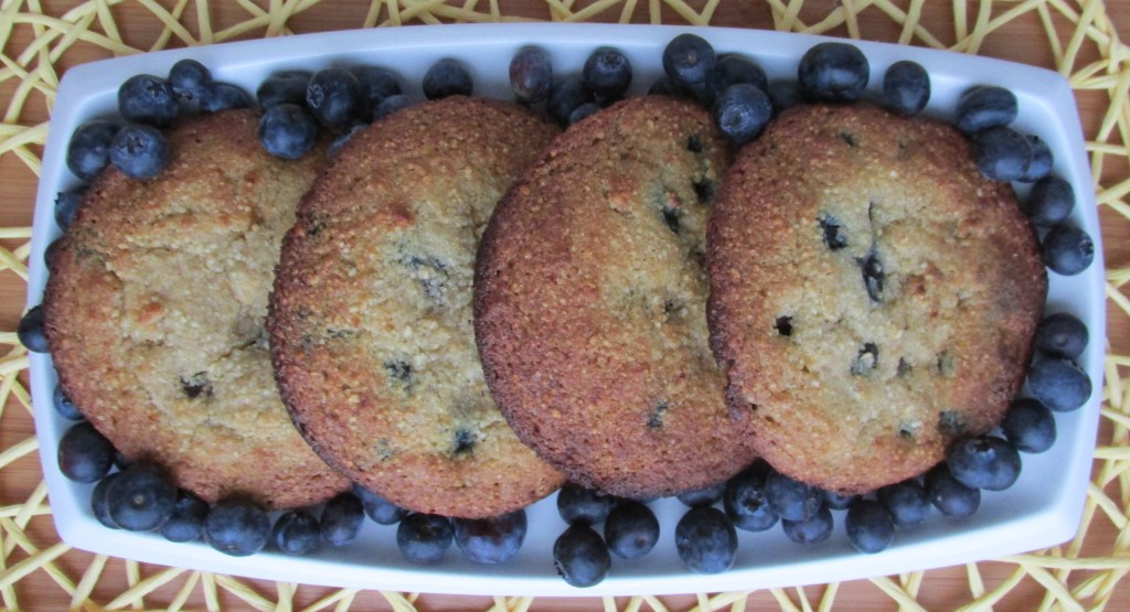 Paleo Blueberry Muffin tops
