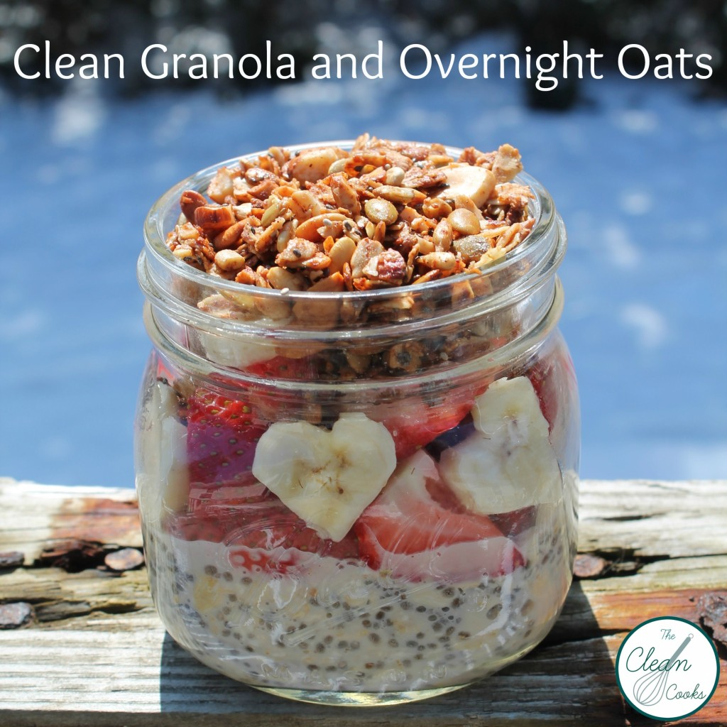 Clean Granola www.TheCleanCooks.com
