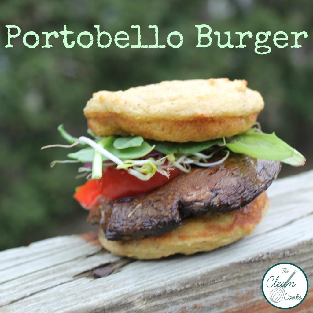Portobello Burger from www.thecleancooks.com