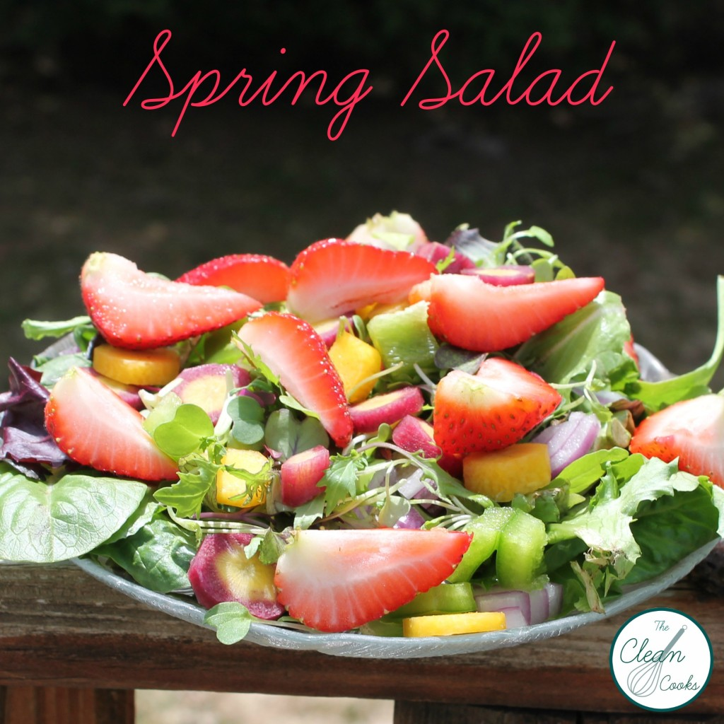 Spring Salad from www.TheCleanCooks.com