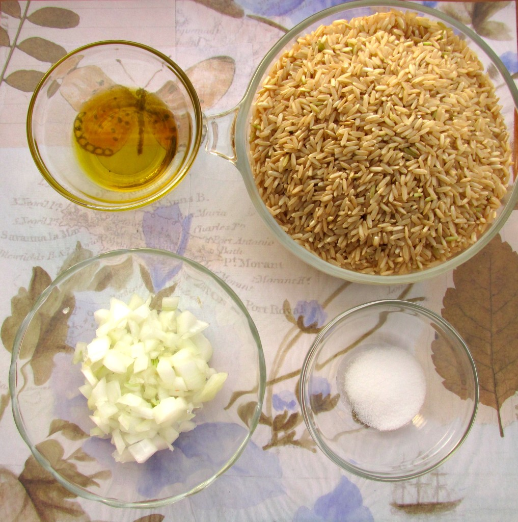 Brown Rice Pilaf ingredients
