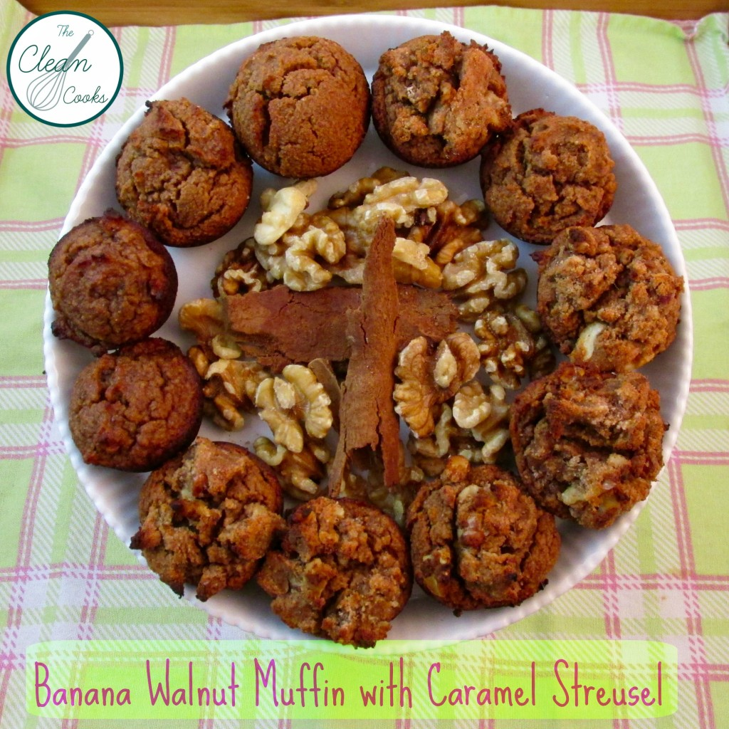 The caramel streusel topping is optional, but why would you leave it out!