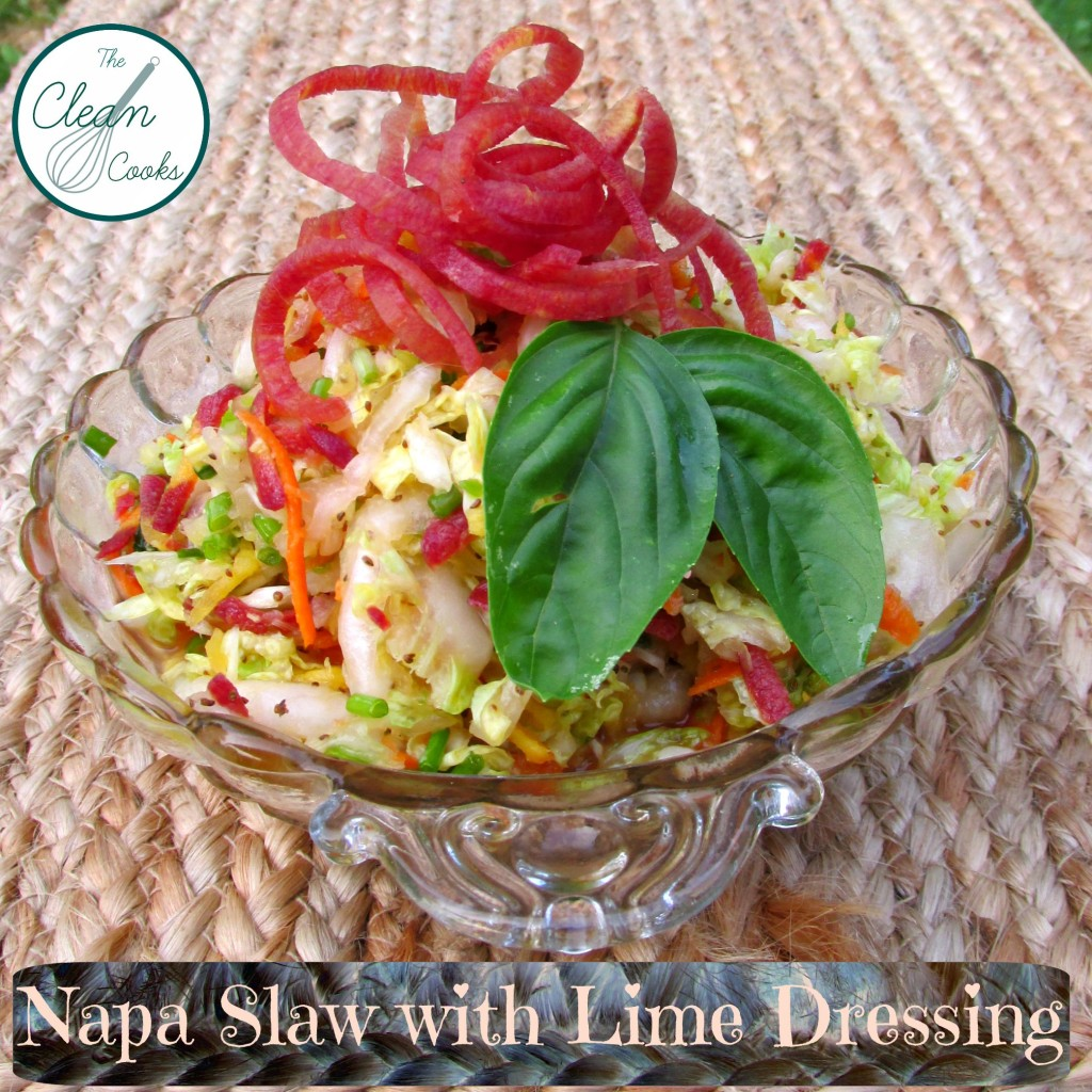 Napa Slaw with Lime Dressing
