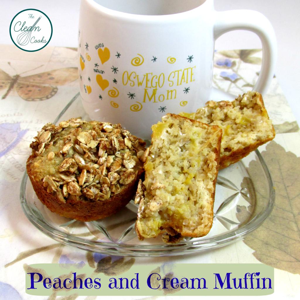 Peaches and Cream Muffin