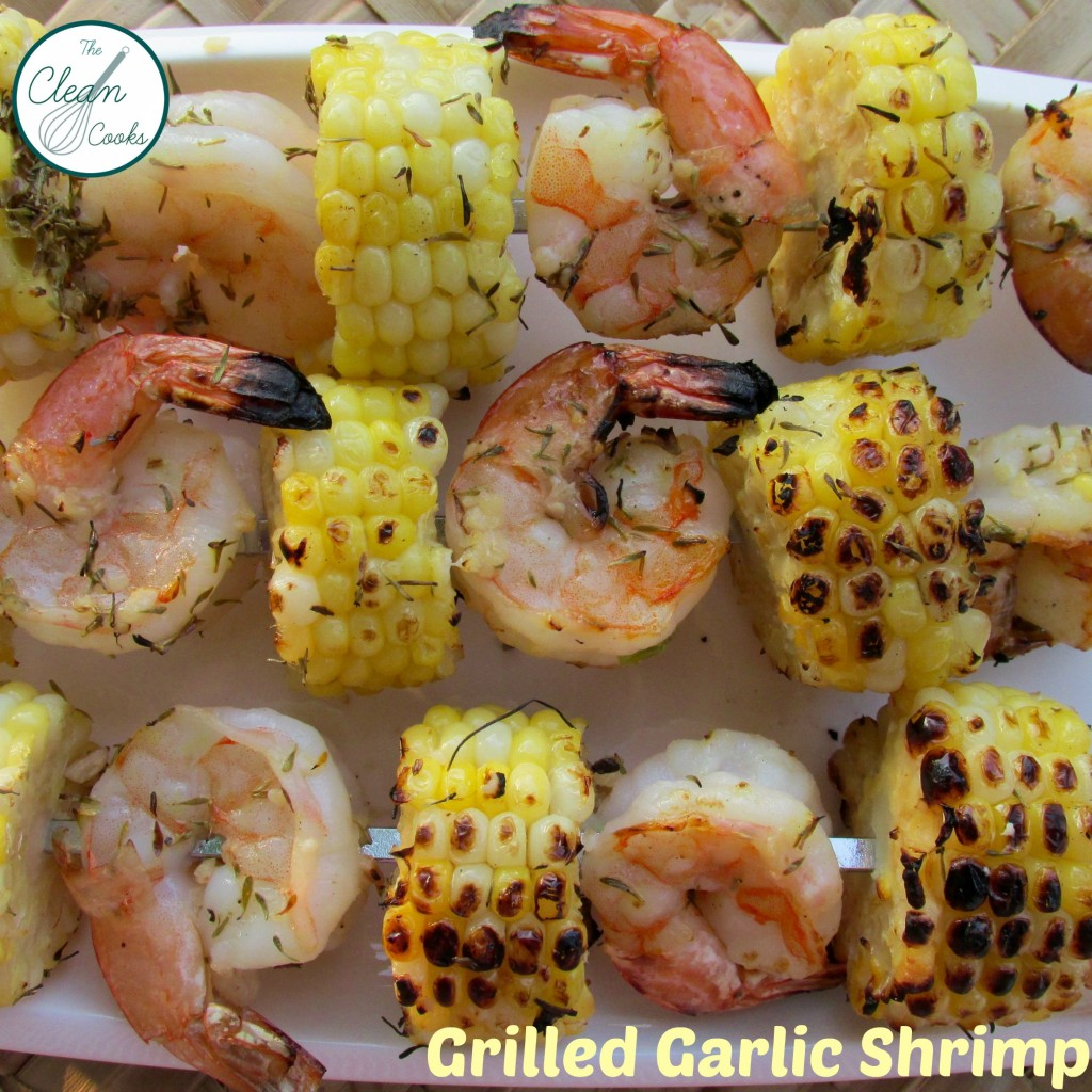 Grilled Garlic Shrimp