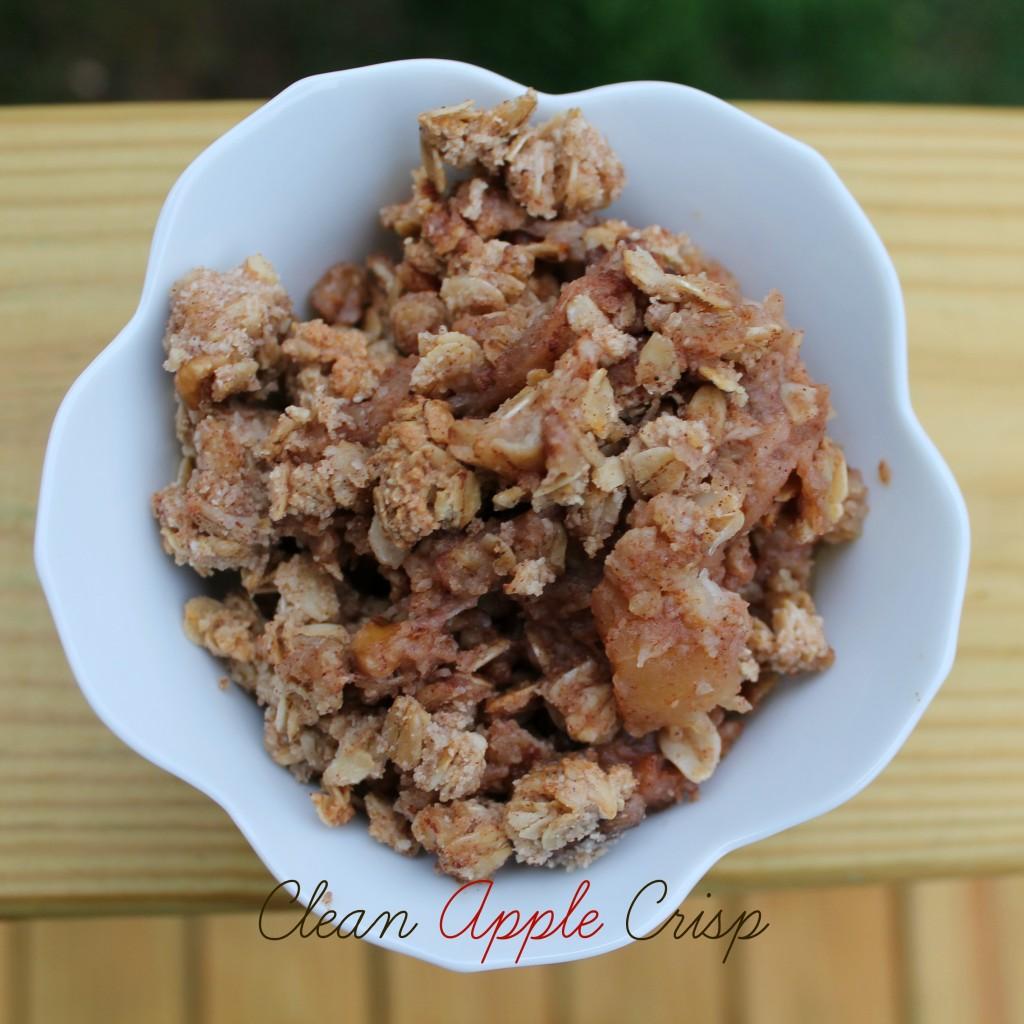 Clean Apple Crisp
