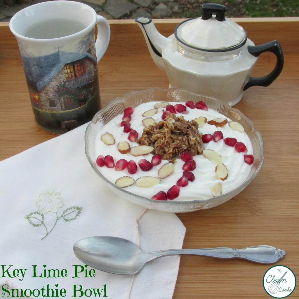 Key Lime Pie Smoothie Bowl